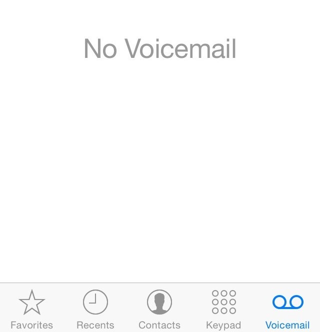 Iphone changing voicemail greeting service desk support center now select greeting in the upper left hand corner of the screen one this next screen you can change the greeting to custom and play the current greeting or m4hsunfo Choice Image
